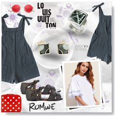 Designer Clothes, Shoes & Bags for Women Retro Sunglasses, Fashion Outfits, Womens Fashion, Marni, Romwe, Polyvore, Louis Vuitton, York, Stuff To Buy