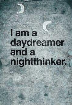 night time thinker
