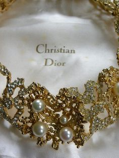31aa5839c1 Christian Dior - vintage Jewelry Dior Jewelry, Jewelry Box, Jewelery,  Fashion Jewelry,