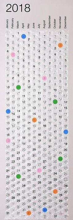 2018 wall calendar 12 month calendar office decor large wall