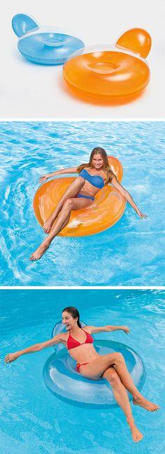 Mit der aufblasbaren Schwimmtier-Ente schaffen Sie einen wahren ...