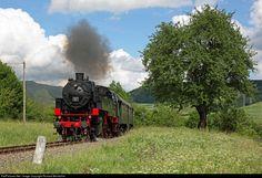 262 Untitled Steam 2-8-2 at Fützen, Germany by Richard Behrbohm