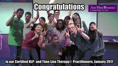 Congratulations to our Certified NLP- and Time Line Therapy® Practitioners of January 2017. An awesome group, experiencing lots of breakthroughs and fun, while doing it. #AsiaMindDynamics #CertifiedNLPPractitionerMalaysia #NLPPrac #CreatingChangeThatLasts