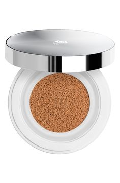 How to use Lancôme liquid cushion compact: For sheer coverage, apply gentle pressure to the cushion using the puff to release the perfect amount of foundation. Gently pat the puff on your skin. For moderate coverage, apply firm pressure to the cushion using the puff. Gently pat the puff onto your skin. It also works well with a regular foundation brush or sponge. Make sure you close the inner lid tightly after each use to preserve freshness and flip the cushion to extend usage.
