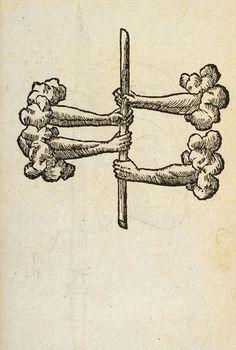 Claude Paradin  Ce jeu de bâton est ainsi décrit par Eustache-Hyacinthe LANGLOIS dans son étude sur les stalles de la cathédrale de Rouen (1838) : « La panoye consistait à s'asseoir à terre, et pied contre pied, en face l'un de l'autre ; chacun des deux adversaires s'efforçait alors de tirer à lui un bâton court, posé perpendiculairement et retenu par le bas, entre ses semelles et celles de l'autre tireur. » C'est une sorte de variante du bras de fer. L'une des stalles de la cathédrale de…
