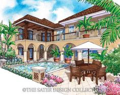 House Plan The Salcito | Sater Design Collection | Luxury House Plans