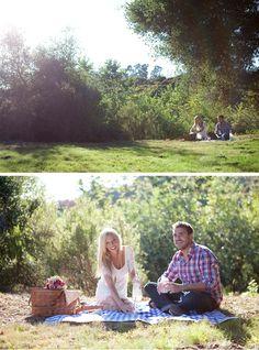 anniversary shoot - picnic
