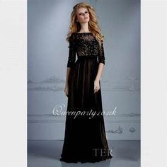 Awesome black long sleeve long evening dress Check more at http://topclotheshop.com/review/black-long-sleeve-long-evening-dress/
