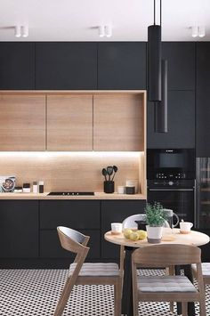 U-shaped kitchen ideas; The most effective examples of design of your dream kitchen 2019 - page 29 of - decoration - U-shaped Kitchen İdeas; The Most Efficient Design Examples Of Your Dream Kitchen 2019 – Page 29 o - Kitchen Room Design, Kitchen Layout, Home Decor Kitchen, Interior Design Kitchen, Home Design, New Kitchen, Home Kitchens, Small Kitchens, Kitchen Ideas