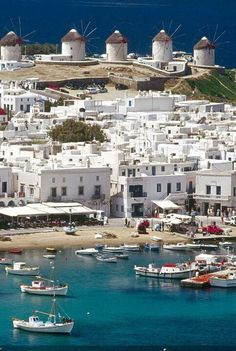 Mykonos , GREECE Also, that island is my one favorite.