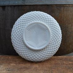 Milk Glass Cake Plate by Westmoreland