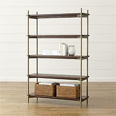 Ryder Bookcase - this one could be cool too on just the 1 side that has more room as its a bit wider than the other - we'd have to measure in person