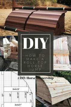 DIY: How to Make a Roll Top Horse Jump