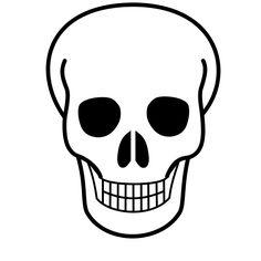 cartoon halloween pictures skull and crossbones clip art vector rh pinterest com skull clip art images skull clipart collection