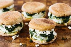 Recipe: Herbed Egg Whites & Feta on English Muffins — Recipes from The Kitchn