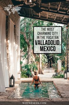 mexico travel The Most Charming City in the Yucatan: Valladolid, Mexico // Why We Seek Cool Places To Visit, Places To Travel, Places To Go, Tulum Mexico, Holbox Island Mexico, Quintana Roo Mexico, Mexico Destinations, Travel Destinations, Best Mexico Vacations