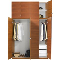 Alta Wardrobe Closet Package - 3 Drawer Wardrobe Extra Tall | Contempo Space