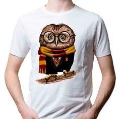 World of Harry Potter Owl Design T-Shirt   #HarryPotter