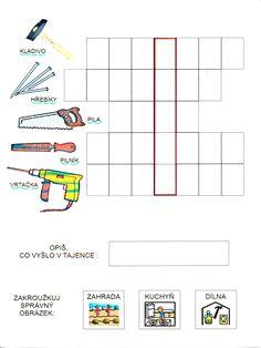 Tajenky a básničky od Martičky :-) Preschool Worksheets, Chart, Map, Homeschooling, Autism, Location Map, Maps, Preschool Printables, Homeschool