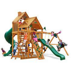 Great Skye I with Amber Posts Cedar Swing Set