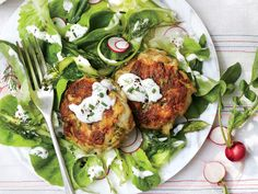 Simple Flaky Crab Cakes | Finding recipes for two doesn't mean you have to be stuck with lots of leftovers. These delicious dinners for two range from weeknight classics to anniversary-worthy dining events. Most of these recipes are easily ready long before take out pizza could arrive on your doorstep. Tonight, try an inspired recipe for two that will bring fun back to the kitchen and flavor to the table. Whether you're ready to roll your own spring rolls or dying to fire up the grill, these