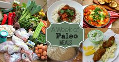 A Week of Paleo Meals - And Here We Are