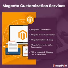 From large web pages to tiny website needs, We know all matters to hit the success. Get all done with our outstanding Magento customization services. #Magento #Magento2 #MagentoThemeCustomization #CustomMagentnoDevelopment #MagentoDevelopers #magePoint
