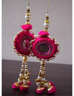 Pompons décoratifs / robe chemisiers / embellissement indien / accessoires Latkan / Saree glands / Dupatta gland