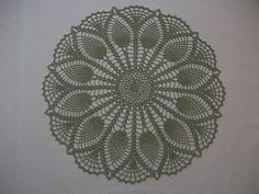 Ravelry: Gothic Lace Doily pattern by Elizabeth Ann White