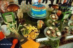 "Sweet Table ""REBELLE"" pour la petite Héloïse."
