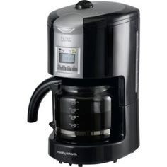 Buy Philips HD7458/00 Phoenix Filter Coffee Machine, Black Online at johnlewis.com cafetiere ...