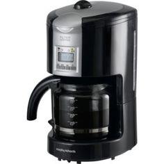 Buy Philips HD7458/00 Phoenix Filter Coffee Machine, Black Online at johnlewis.com cafetiere ...