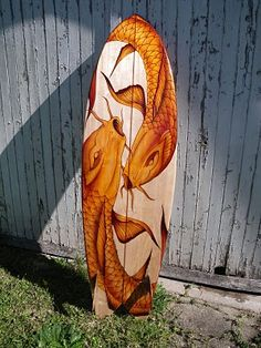 Koi surfboard! I wish I surfed