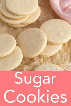 These no-spread sugar cookies are perfect for cutouts and totally delicious. Best of all the dough is easy to work with and needs minimal chilling. Pumpkin Sugar Cookies, Gluten Free Sugar Cookies, Halloween Sugar Cookies, Chocolate Sugar Cookies, Rolled Sugar Cookies, Sugar Cookies Recipe, No Spread Sugar Cookie Recipe, Cookie Dough Recipes, Sugar Cookie Dough
