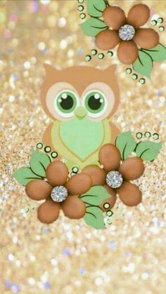 Owl Background, Phone Background Wallpaper, Iphone Wallpaper, Cute Owls Wallpaper, Owl Tat, Animal Cutouts, Project Life Scrapbook, Owl Cartoon, Owl Pictures