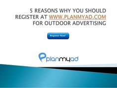 www.planmyad.com #outdooradvertising #hoarding #billboards #oohmedia