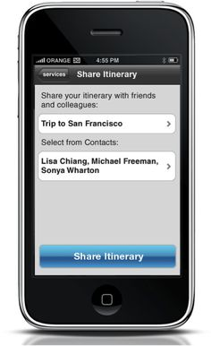 In addition to pulling together an easy-to-navigate itinerary, WorldMate has LinkedIn integration, which, for social media addicts, is a godsend that makes connecting with clients on the road effortless. To receive flight alerts, alternative schedules, and to sync with a mobile calendar requires a bump up to Gold membership (available for $10).