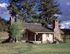 ralph lauren ranch in montana | ranch interiors shining mountain ranch interiors shining mountain ...