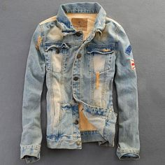 New 2014 Men Denim Jeans Korean Sportsman Washing Jackets | Buy Wholesale On Line Direct from China