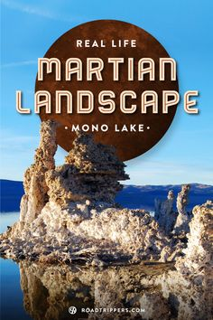 The Mono Lake Tufa State Reserve is a unique landscape that'll make you question if you are still on earth!
