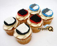 Mr.ponQ cup-cakes transformes