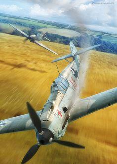 Battle of Britain Combat Archive Vol. 3 - 12th August on Behance