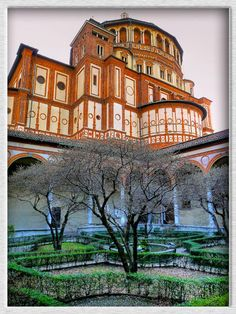 Santa Maria delle Grazie in Milan. This building houses Leonardo Da Vinci's 'The Last Supper'.