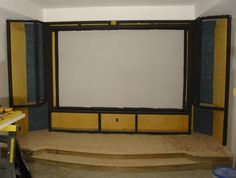 Examples of DIY screen/stage projects