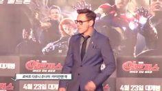 '어벤져스2' 영웅들이 돌아왔다…로다주 등 주요 배우, 韓 프리미어 행사 참석[동영상] #Avengers / #Video ⓒ 비주얼다이브 무단 복사·전재·재배포 금지