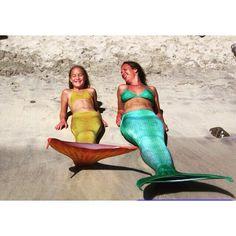 Dünyanın her yerinden, her yaştan birçok kadın ve çocuk gerçek birer denizkızına dönüşüyor! Yoksa sen hala kostümünü almadın mı  www.magictail.com.tr