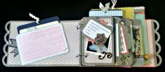 This awesome little mini is part guest book, part trip down memory lane.  More details on my blog