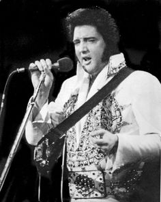 Elvis performs at Omaha's City Auditorium weeks before his death