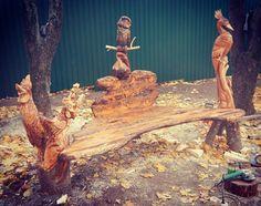 Alexandr Ivchenko. Russian sculptor . Chainsaw Carving. sashaaist@facebook.com  sashaaist@yandex.ru