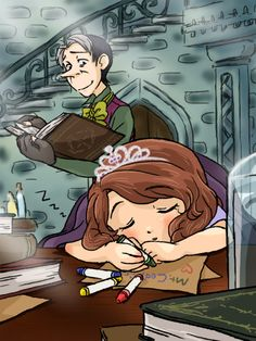 Sofia the First and Cedric, Cawoli.tumbr.com Cartoon Characters As Humans, Disney Characters, Fictional Characters, Disney Pictures, Couple Pictures, Disney And Dreamworks, Disney Pixar, Photo To Video, Cartoon Ships
